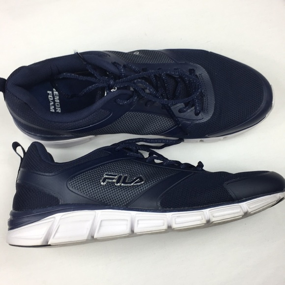 Fila Steel Sprint Navy Blue Men's Athletic Shoes